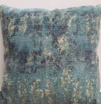 Cushion linen seablue 60x60cm