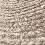 Rug Pure Wool Natural ø 200cm